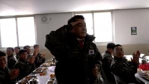 진짜 사나이 52사단 장병들과 함께한 설날(2월4일)